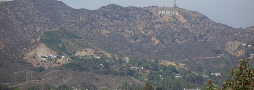 Aussicht auf das Hollywoodsign