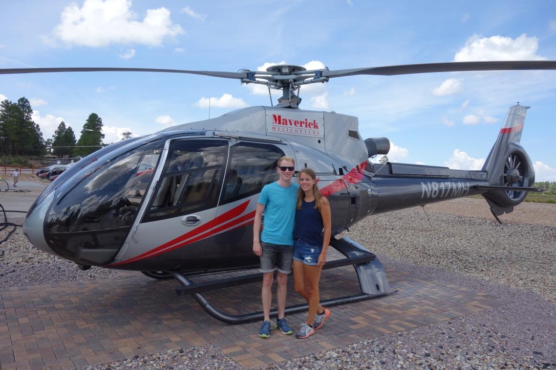 Helikopterflug über den Grand Canyon