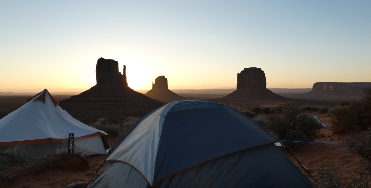 Campingplatz THE VIEW, Monument Valley