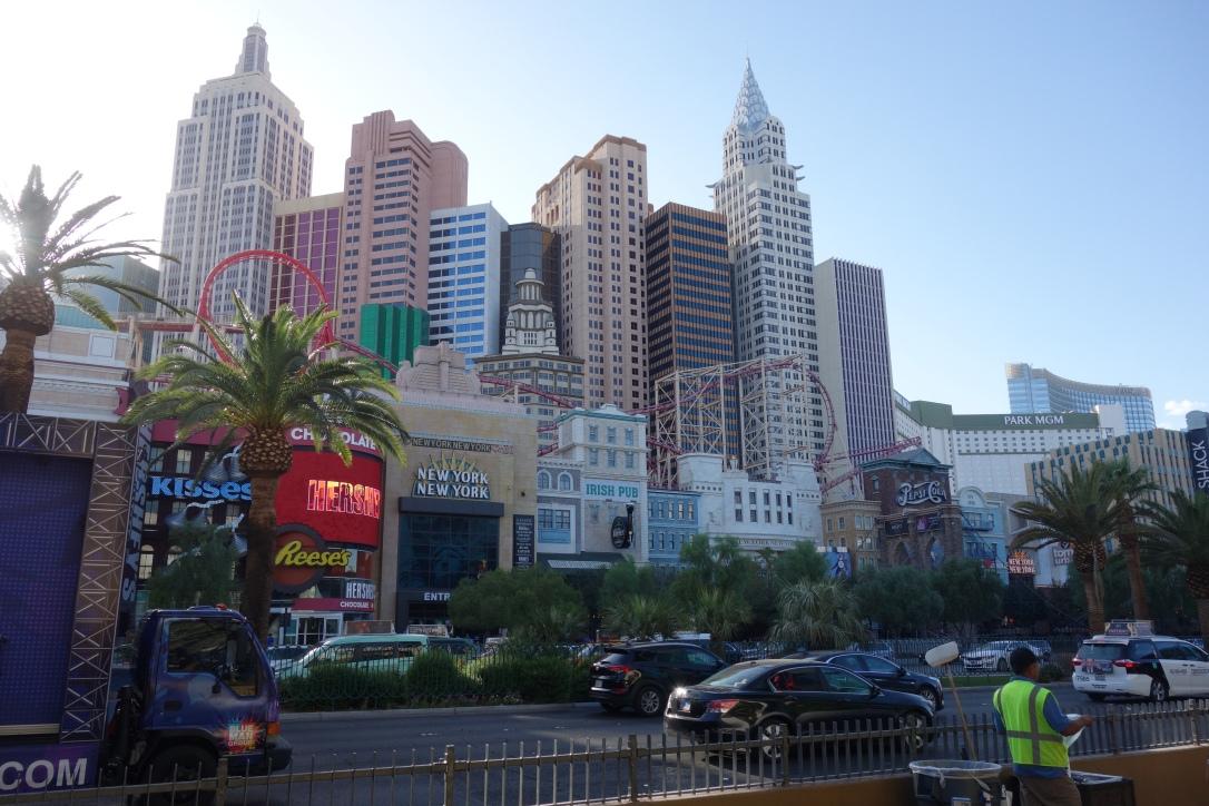 Las Vegas Strip bei Tag