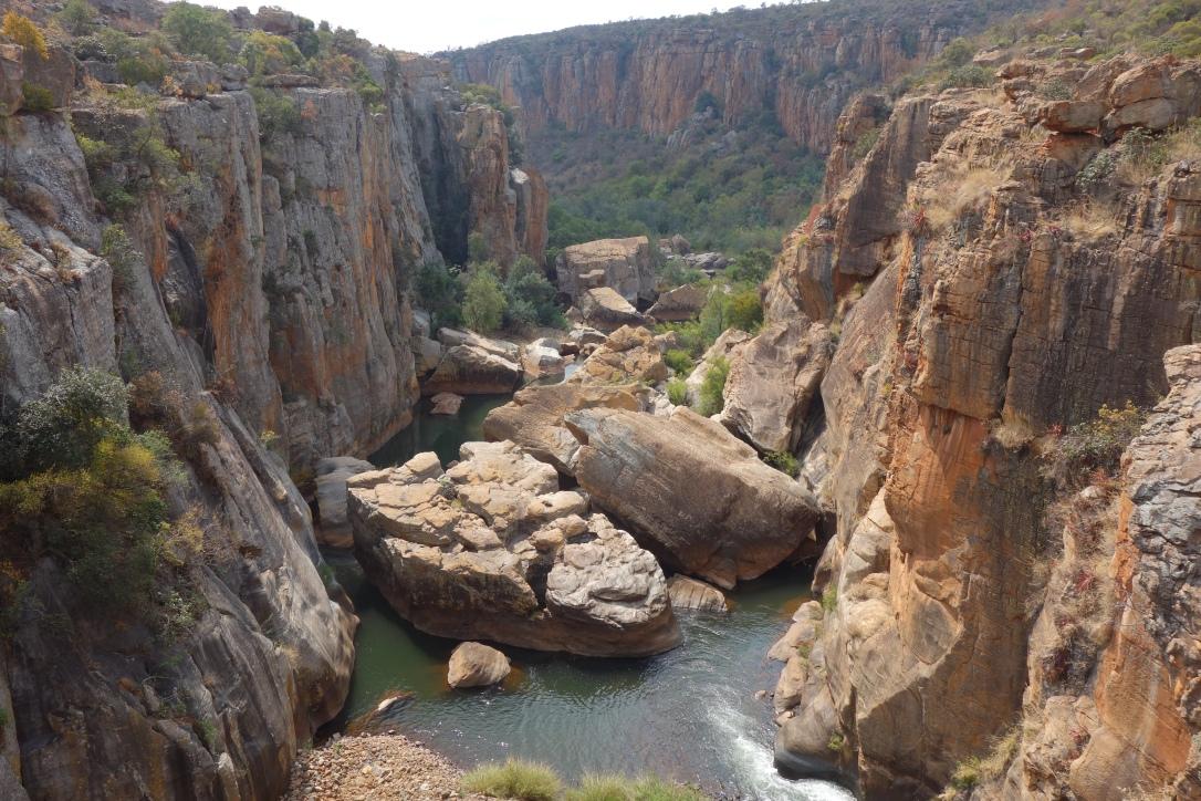 Bourke's Luck Potholes, Drakensberge
