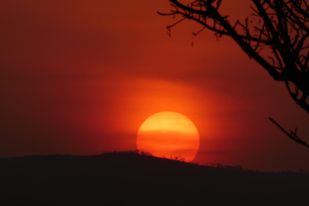 Sonnenuntergang, Krüger Nationalpark